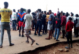 UNIOSUN STUDENTS PROTEST