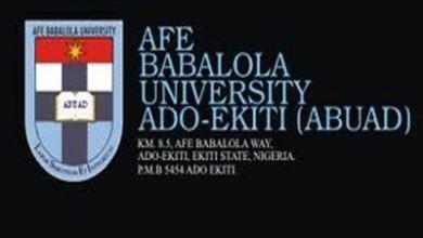 AFE BABALOLA UNIVERSITY AND COURSES