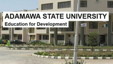 ADAMAWA STATE UNIVERSITY AND COURSES