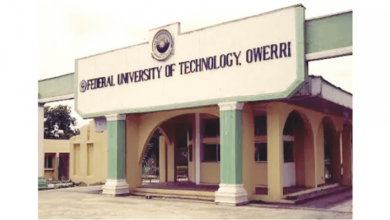 FUTO POST UTME/DIRECT ENTRY