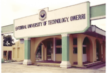 FUTO PREDEGREE 3RD ADMISSION