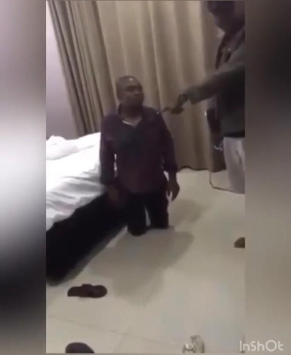 Man catches