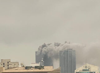 The fire outbreak started from the top of the skyscraper which is located at the Central Business District in the Federal Capital Territory FCT.