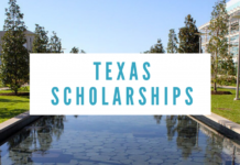 TEXAS SCHOLARSHIP APPLICATION PORTAL UPDATE FOR 2020/2021
