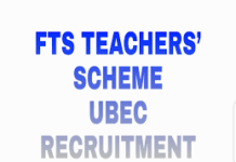 FTS ADMISSIONS CLOUD FEDERAL TEACHERS SCHEME PROGRAMME 2020
