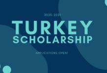 TURKEY SCHOLARSHIP SHORTLISTED APPLICANTS 2020