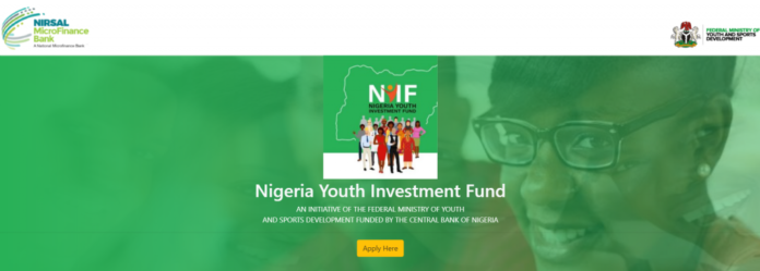 NIGERIAN YOUTH INVESTMENT FUND RECRUITMENT 2020/2021