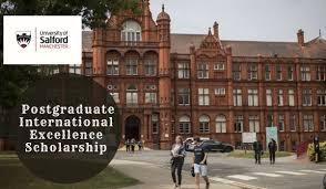 SALFORD BUSINESS SCHOOL POSTGRADUATE INTERNATIONAL SCHOLARSHIP 2020