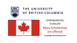 STUDY AT UNIVERSITY OF BRITISH COLUMBIA SCHOLARSHIP IN CANADA 2020