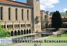 GLOBAL EXCELLENCE SCHOLARSHIP WESTERN AUSTRALIA UNIVERSITY 2020
