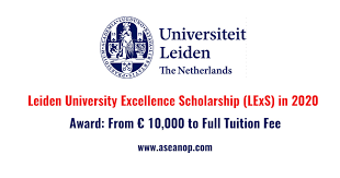 LEIDEN UNIVERSITY EXCELLENCE SCHOLARSHIPS 2021 APPLY NOW