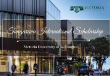 TONGAREWA SCHOLARSHIP VICTORIA UNIVERSITY OF WELLINGTON 2021
