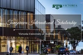 TONGAREWA SCHOLARSHIP VICTORIA UNIVERSITY OF WELLINGTON 2021
