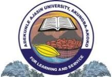 ADEKUNLE AJASIN UNIVERSITY RECRUITMENT 2021/2022 APPLY NOW