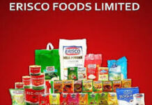 ERISCO FOODS LIMITED RECRUITMENT APPLICATION FORM OUT 2021