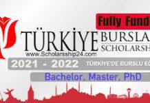FULLY FUNDED TURKIYE 2021/2022 SCHOLARSHIPS FOR INTERNATIONAL STUDENTS APPLY NOW