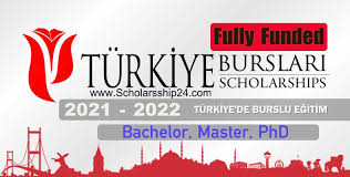 FULLY FUNDED TURKIYE 2021/2022 SCHOLARSHIPS FOR INTERNATIONAL STUDENTS APPLY NOW