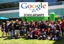 GOOGLE SCHOLARSHIPS EUROPE MIDDLE EAST AND AFRICA 2021 APPLY NOW