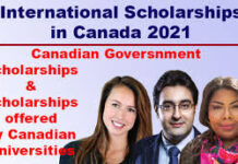 INTERNATIONAL STUDENTS SCHOLARSHIP FOR UNDERGRADUATE CANADA 2021
