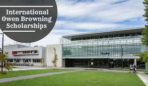 OWEN BROWNING SCHOLARSHIPS FOR INTERNATIONAL STUDENTS 2021