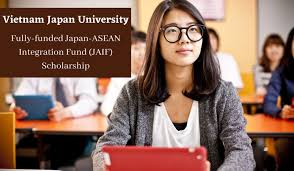 VIETNAM JAPAN UNIVERSITY FULLY FUNDED SCHOLARSHIP 2021 APPLY NOW