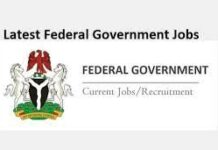 FEDERAL GOVERNMENT OF NIGERIA RECRUITMENT FOR TECHNICAL ASSISTANT ADVISOR 2021
