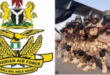 NIGERIA AIRFORCE RECRUITMENT 2021/2022 APPLICATION FORM OUT APPLY NOW