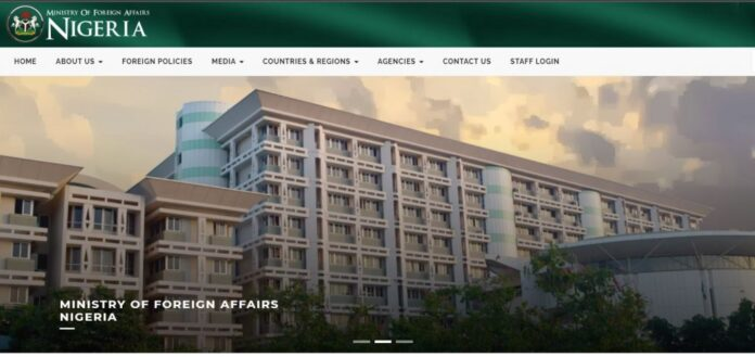MINISTRY OF FOREIGN AFFAIRS RECRUITMENT 2021 APPLICATION FORM OUT