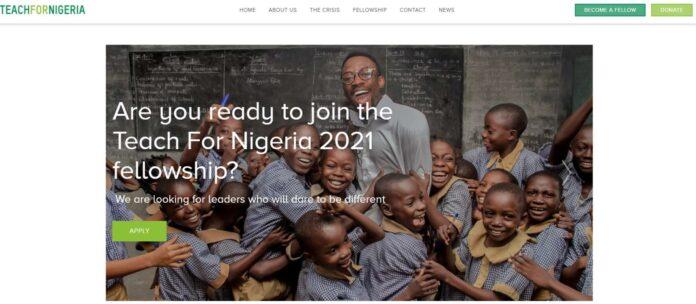 TEACHFORNIGERIA RECRUITMENT 2021 APPLICATION FORM OUT