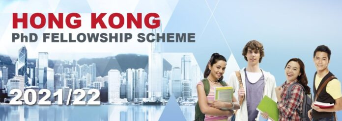 HONG KONG PHD FELLOWSHIP SCHOLARSHIP SCHEME 2021 INFORMATION UPDATE