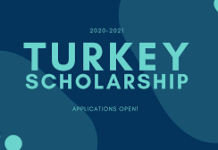 TURKEY SCHOLARSHIP SHORTLISTED 2021 APPLICANT SEE LIST HERE