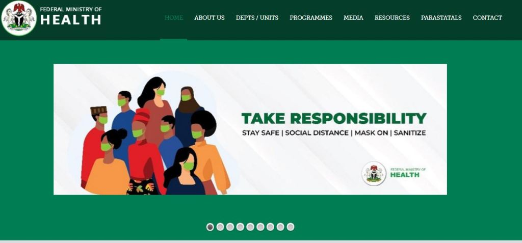 FEDERAL MINISTRY OF HEALTH RECRUITMENT 2021 APPLICATION UPDATE