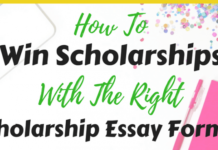 SUCCESS SCHOLARSHIP ESSAY FORMAT 2021 APPLICATION FORM OUT