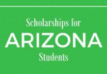 ARIZONA SCHOLARSHIPS 2021 APPLICATION FOR INTERNATIONAL STUDENT